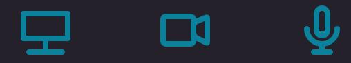 Kaltura Capture feed icons